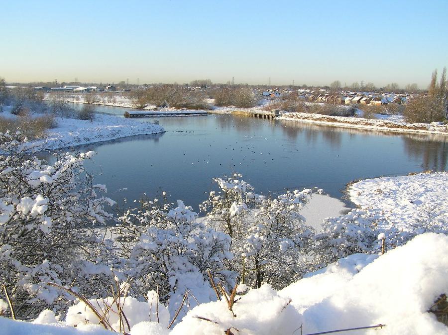 Woolston Weir - Winter 2010